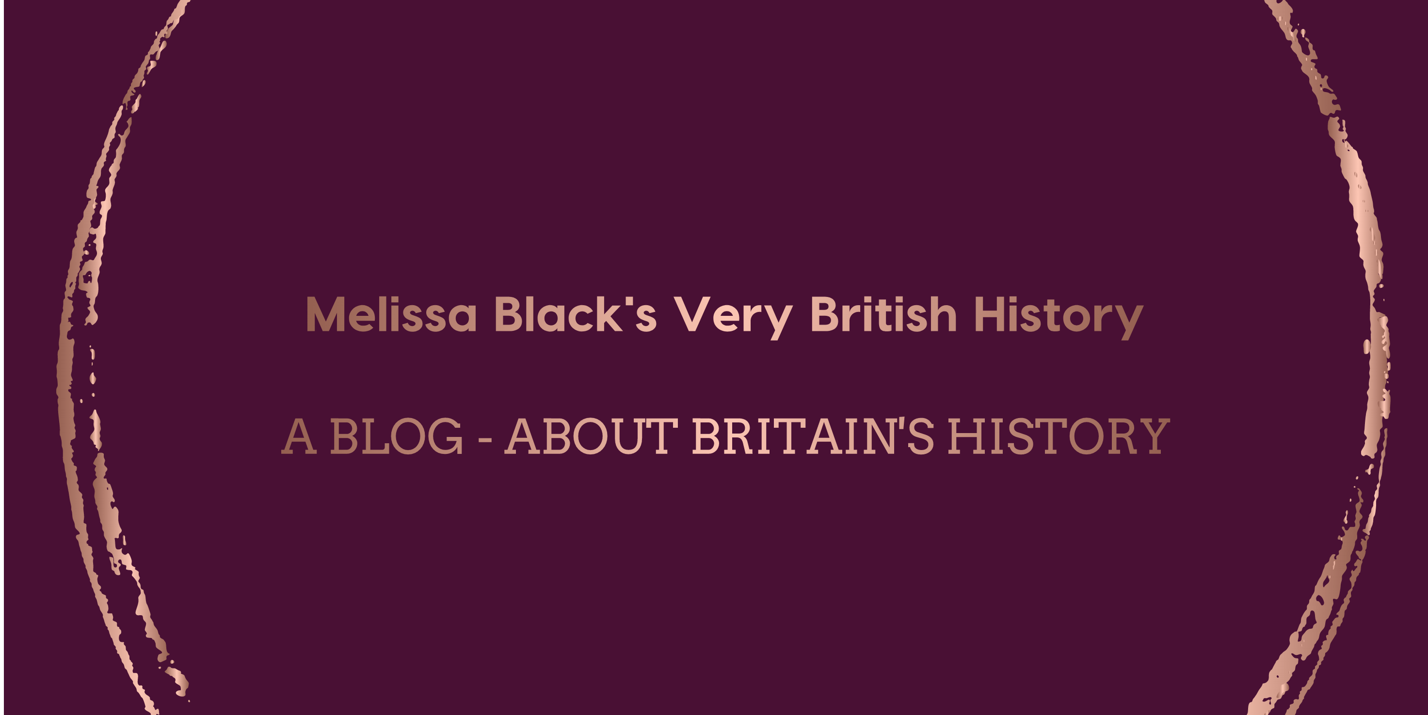 Melissa Blacks Very British History